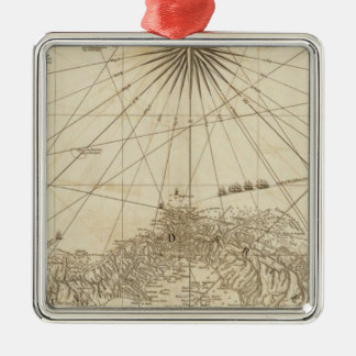 The Isthmus of Panama Christmas Ornament