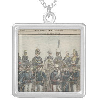 The Italian Army Silver Plated Necklace