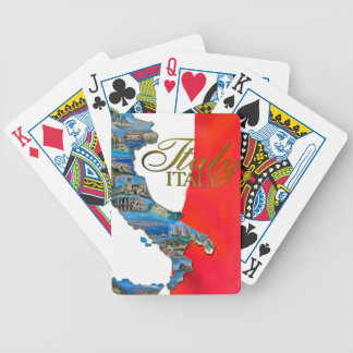 "The Italian ""Boot"" Bicycle Playing Cards"