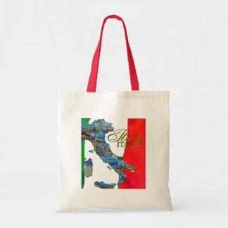 "The Italian ""Boot"" Budget Tote Bag"