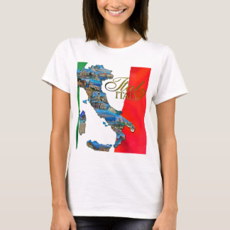 "The Italian ""Boot"" T-Shirt"