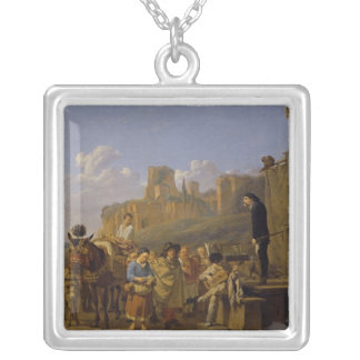 The Italian Charlatans, 1657 Silver Plated Necklace