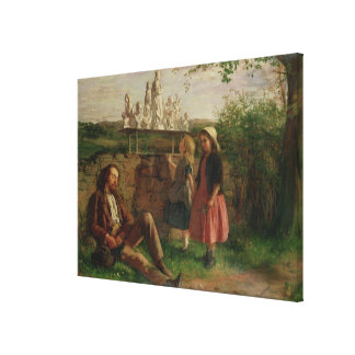 The Italian Image Seller Canvas Print