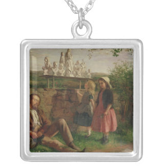 The Italian Image Seller Silver Plated Necklace
