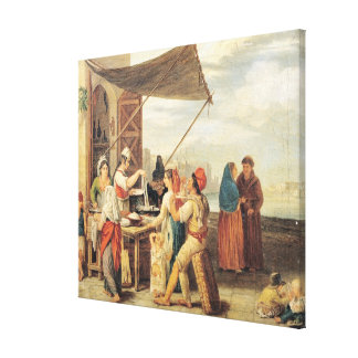The Italian Market Canvas Print