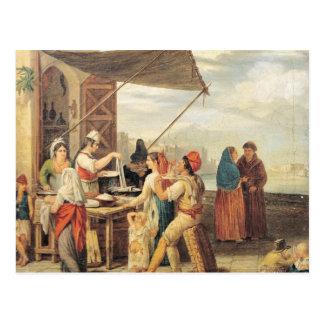 The Italian Market Postcard