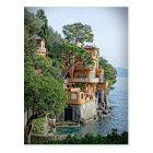 The Italian Riviera - Portofino Postcard