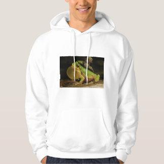 The Italian Tree Frog Hyla Intermedia Sweatshirt