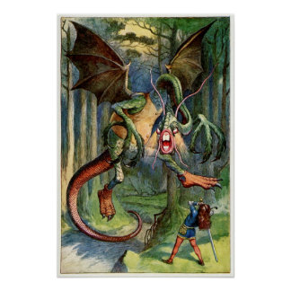The Jabberwock Poster