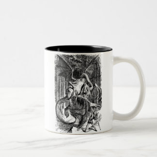 The Jabberwocky Two-Tone Coffee Mug