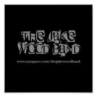 The Jake Wood Band Poster