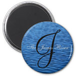The James River [round] 6 Cm Round Magnet