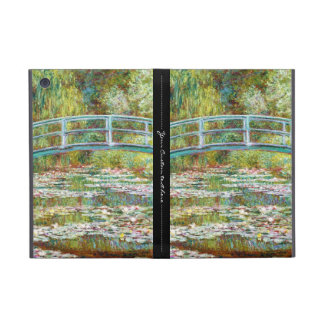 The Japanese Bridge 1899 Claude Monet iPad Mini Covers