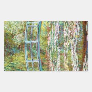 The Japanese Bridge 1899 Claude Monet Sticker