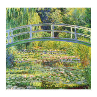 The Japanese Bridge - Claude Monet Canvas Print