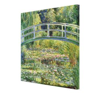 The Japanese Bridge Claude Monet Fine Art Stretched Canvas Prints