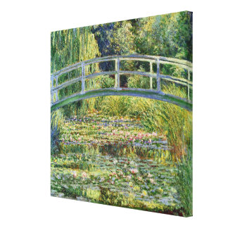 The Japanese Bridge Claude Monet Fine Art Canvas Print