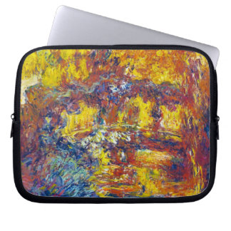 The Japanese Bridge Claude Monet Laptop Sleeve