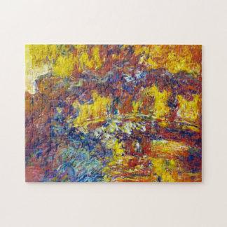 The Japanese Bridge Claude Monet Puzzles
