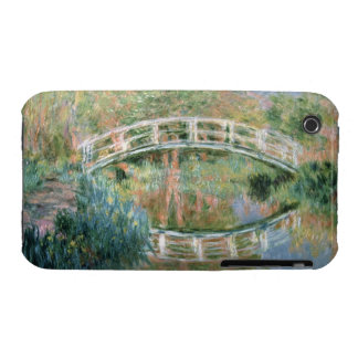 The Japanese Bridge, Giverny, 1892 (oil on canvas) iPhone 3 Case-Mate Case