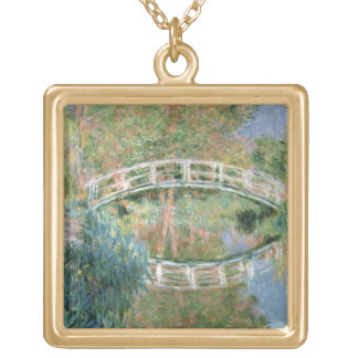 The Japanese Bridge, Giverny, 1892 (oil on canvas) Necklaces
