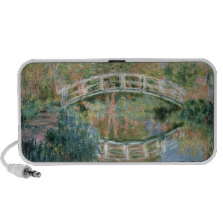 The Japanese Bridge, Giverny, 1892 (oil on canvas) Laptop Speakers