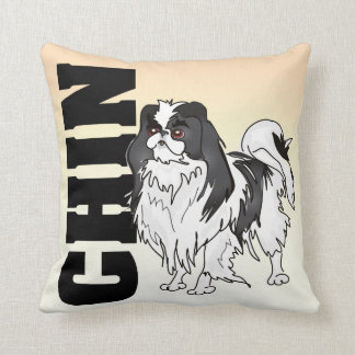 The Japanese Chin Pillow Cushions