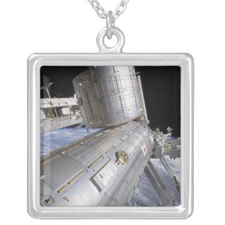 The Japanese Experiment Module Kibo laboratory Silver Plated Necklace