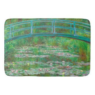 """The Japanese Footbridge"" Bath Mat"