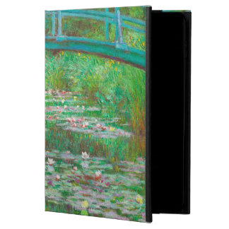 The Japanese Footbridge by Impressionist Monet