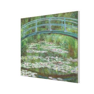 The Japanese Footbridge by Monet (1899) Canvas Print