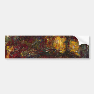 The Japanese Footbridge Giverny by Claude Monet Bumper Sticker