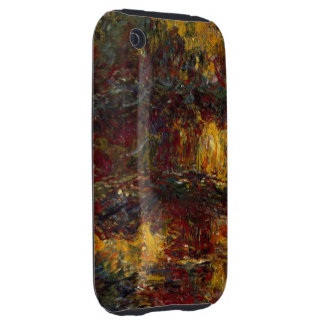 The Japanese Footbridge, Giverny by Claude Monet iPhone 3 Tough Cover