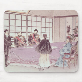 The Japanese ministers I-Tso and Mou-Tsou Mouse Pad