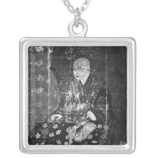 The Japanese priest Jitchin Silver Plated Necklace