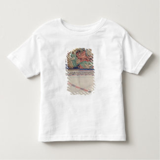 The jaws of Hell swallowing the red dragon Toddler T-Shirt
