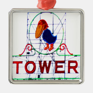 The Jayhawk Tower Christmas Ornament