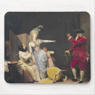 The Jealous Old Man, 1791 Mouse Mat
