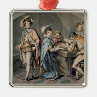The Jealousy of Darnley Christmas Ornament