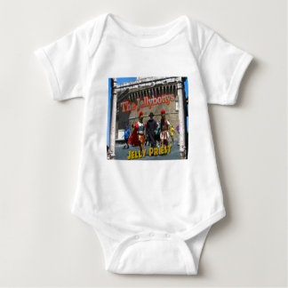 The Jellybottys Jelly Priest Song Dancing Romans Baby Bodysuit