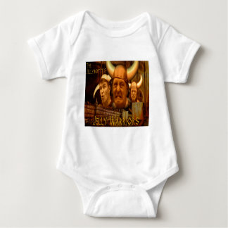The Jellybottys Jelly Warriors Product Line Baby Bodysuit
