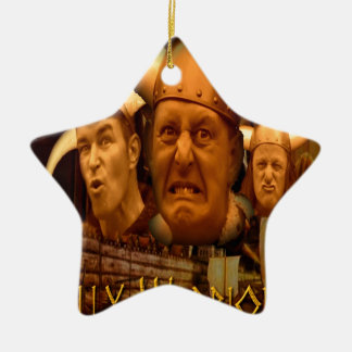 The Jellybottys Jelly Warriors Product Line Ceramic Star Decoration
