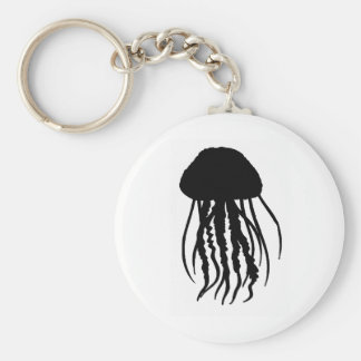 the JELLYFISH main Basic Round Button Key Ring