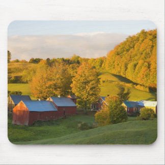 The Jenne Farm in Woodstock, Vermont. Fall. 2 Mouse Mat