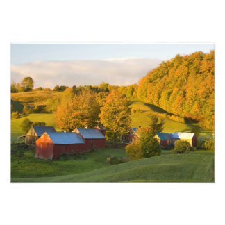 The Jenne Farm in Woodstock, Vermont. Fall. 2 Photographic Print