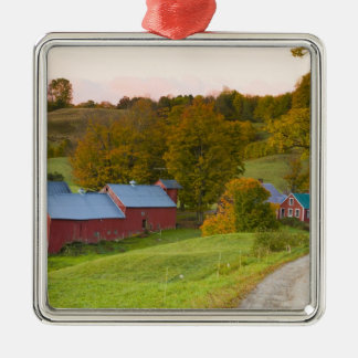 The Jenne Farm in Woodstock, Vermont. Fall. Christmas Ornament