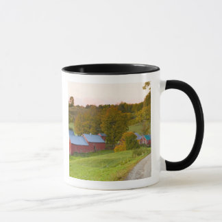 The Jenne Farm in Woodstock, Vermont. Fall. Mug