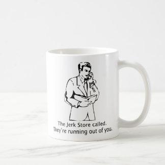 The Jerk Store Called Basic White Mug
