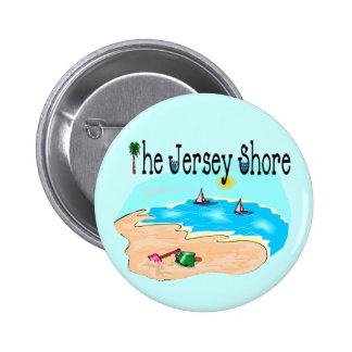 The Jersey Shore 6 Cm Round Badge