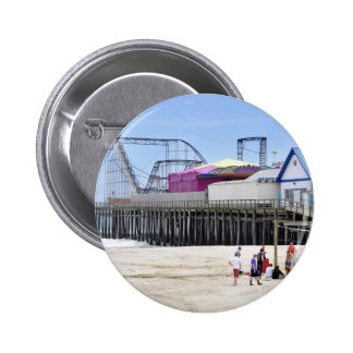 The Jersey Shore at Seaside Heights 6 Cm Round Badge